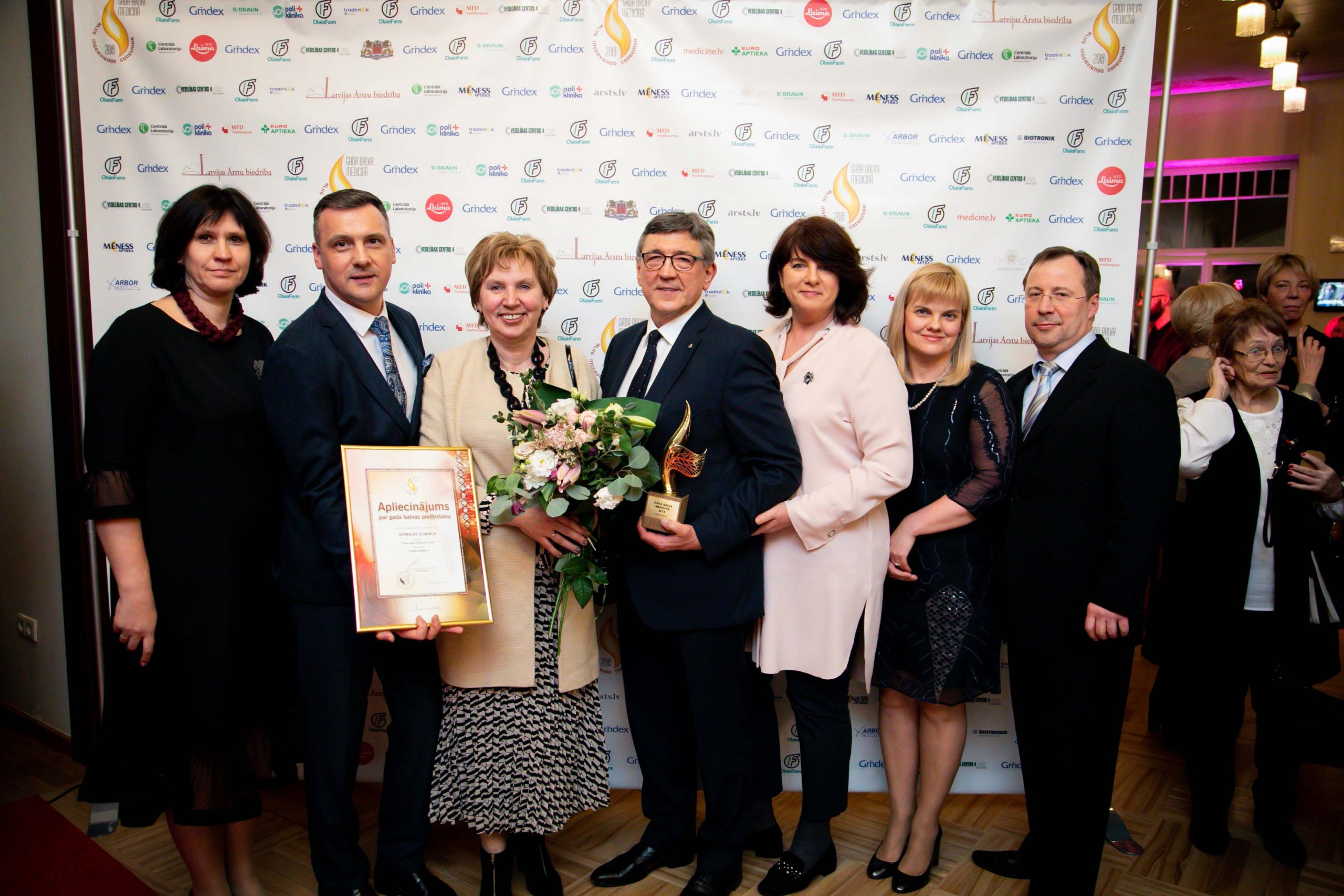 "Jūrmalas slimnīca hospital receives the title ""Hospital of the Year 2018"""