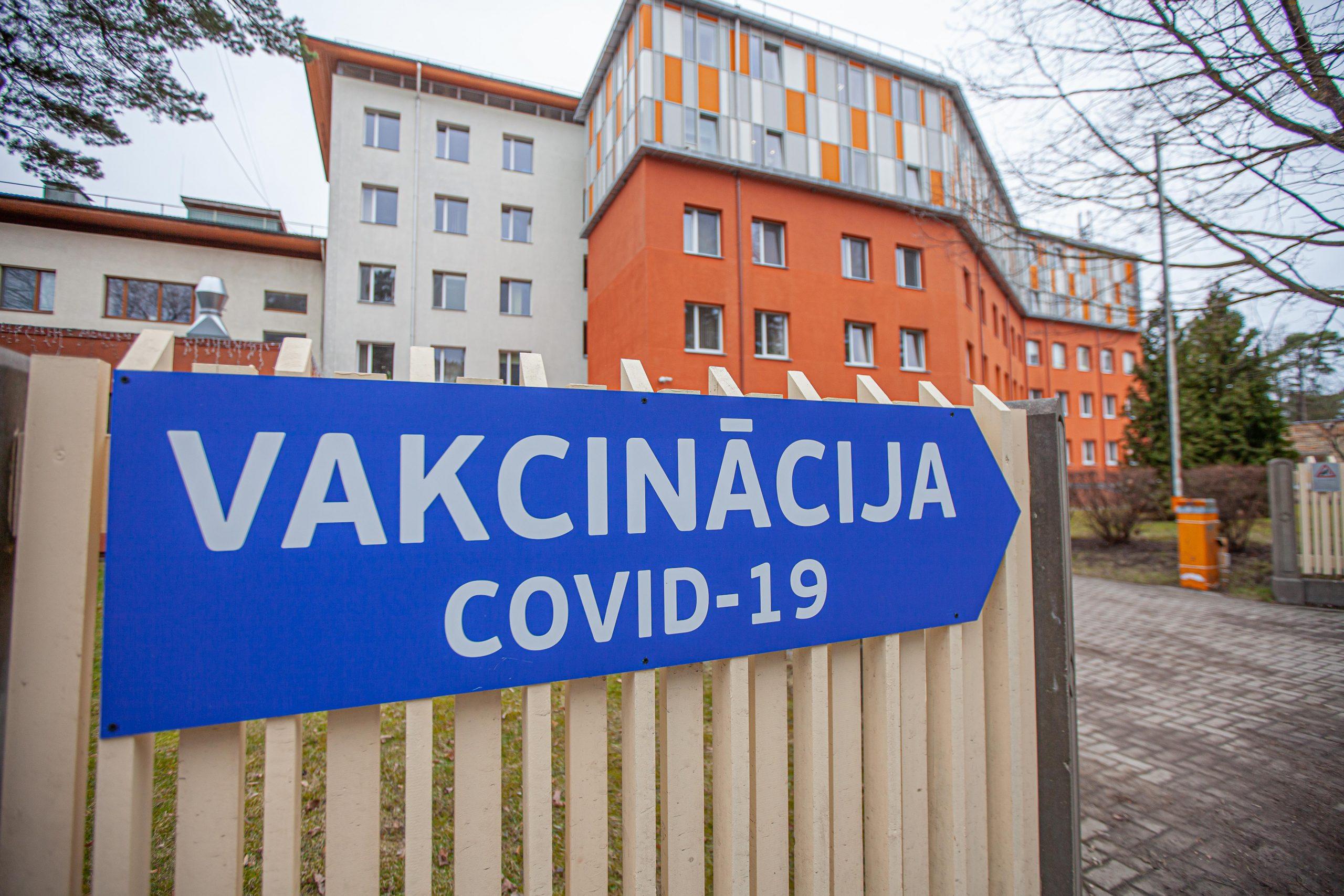Jūrmalas slimnīca uzsāk iedzīvotāju vakcināciju